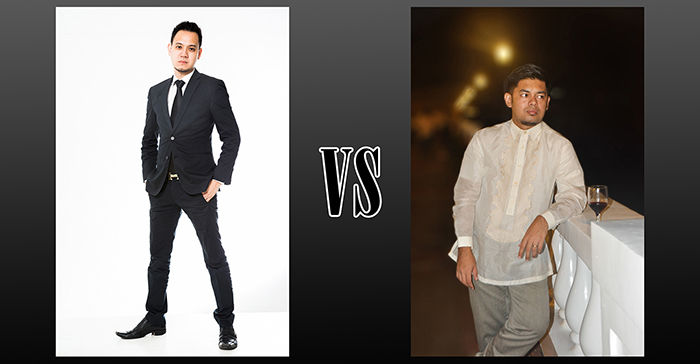 The Suit vs. The Barong