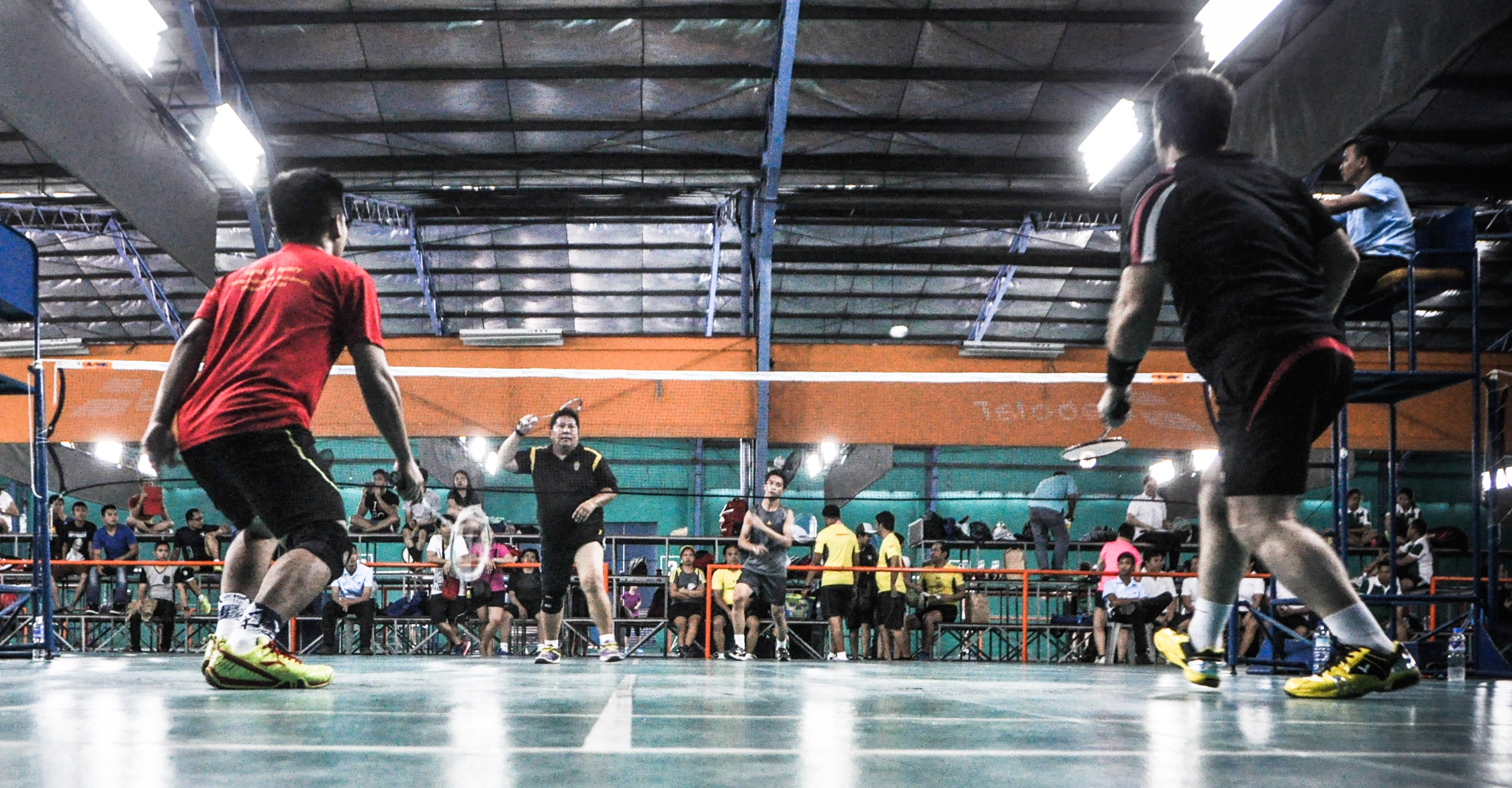 MARLAW Badminton Competition 2015